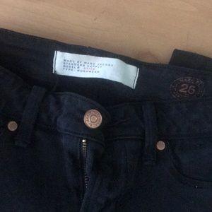 Marc By Marc Jacobs Jeans - Marc Jacobs black stick jeans